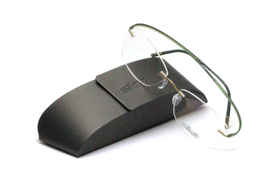 薄型レンズ付メガネセット Silhouette ESSENCE エッセンス 5523-5542 グリーンバランス【メンテナンスフリー】【超軽量リムレス】