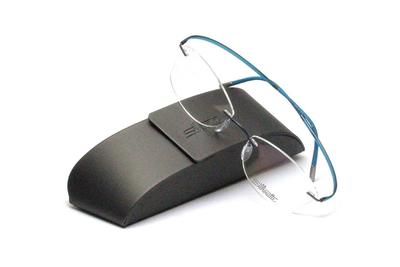 薄型レンズ付メガネセット Silhouette ESSENCE エッセンス 5523-5042 ティールモーション【男女兼用】【メンテナンスフリー】【超軽量リムレス】