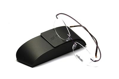薄型レンズ付メガネセット Silhouette ESSENCE エッセンス 5523-4042 シルキーライラック【男女兼用】【メンテナンスフリー】【超軽量リムレス】