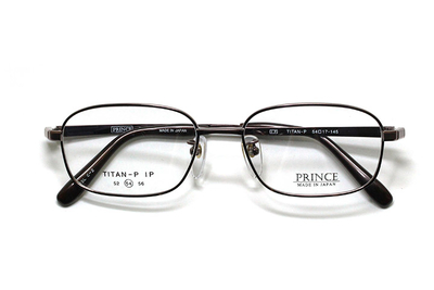 薄型レンズ付メガネセット オーソドックス紳士モデル ワンブリッジ プリンス 3608-BR(ブラウン) 52サイズ