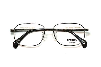 マルマン TITANOS チタノス T 1105-CBO ライトグレー【メンズ】【男性用】【日本製】【ピュアチタン】