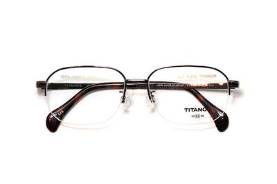 マルマン TITANOS チタノスT 1188-CV5 ブラウン【メンズ】【男性用】【日本製】【ピュアチタン】