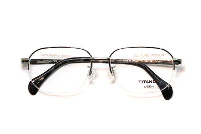 マルマン TITANOS チタノスT 1188-CBO ライトグレー【メンズ】【男性用】【日本製】【ピュアチタン】