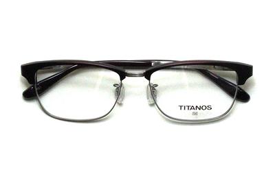 マルマン TITANOS(チタノス) T 1424-RED(レッド)【メンズ】【男性用】【日本製】