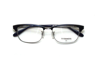 マルマン TITANOS(チタノス) T 1424-NV(ネイビー)【メンズ】【男性用】【日本製】