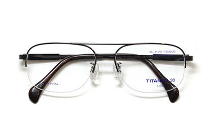マルマン TITANOS30(チタノス30) T 3124-CV5(ブラウン)【メンズ】【男性用】【日本製】【ピュアチタン】
