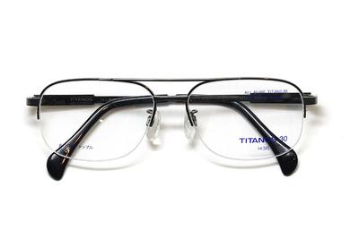 マルマン TITANOS30(チタノス30) T 3124-CB1(ダークグレー)【メンズ】【男性用】【日本製】【ピュアチタン】