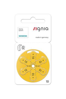 シグニア 補聴器空気電池 PR536(10)