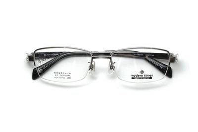 薄型レンズ付メガネセット ModernTimes MT 1152-5 ブラッシュチタン【メンズ】【男性用】【日本製】