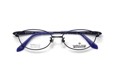 薄型レンズ付メガネセット ModernTimes MT 1153-4 ダークネイビーマット【レディース】【女性用】【日本製】