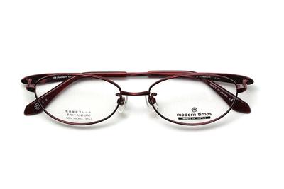 薄型レンズ付メガネセット ModernTimes MT 1153-2 アイスワイン【レディース】【女性用】【日本製】