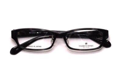 薄型レンズ付メガネセット ModernTimes MT 8022-3 グレーデミ【ユニセックス】【男女兼用】【アセテート】【日本製】