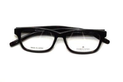 薄型レンズ付メガネセット ModernTimes MT 8024-2 デミ【ユニセックス】【男女兼用】【アセテート】【日本製】