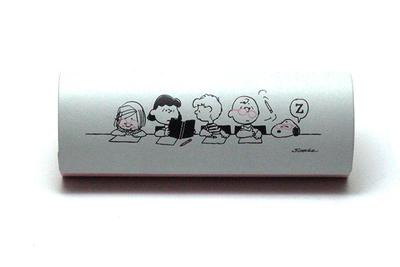 みんな大好き!スヌーピー・コレクション めがねケース スヌーピー/お勉強(クロス付き)【スヌーピー・コレクション】