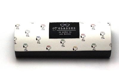キャラクターメガネケース(クロス付) スヌーピー/整列【スヌーピー・コレクション】【うれしい10%割引販売中】