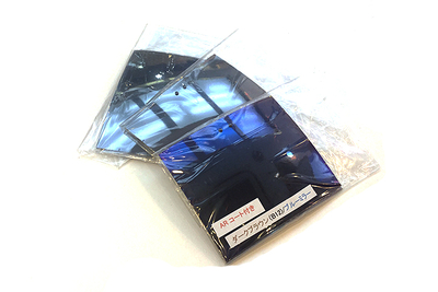 自分で作る オーダーメイドクリップオンサングラス シーザーフリップ2 TACミラーレンズモデル 裏面AR反射防止コート付のスペアレンズ