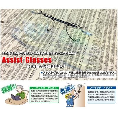 ヒラタオリジナル 既製品アシストグラス(シーザーフリップ2関連商品)