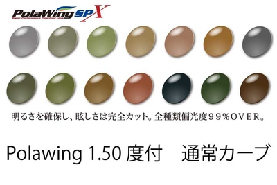 COMBEX PolawingSPX 1.50度付 通常カーブ 単焦点レンズ