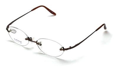 【ネット専売商品】ワンランク上の軽くて掛け心地の良い日本製リムレス老眼鏡。#1【日本製フレームとHOYA1.6非球面レンズの組み合わせ】【男女兼用】【ユニセックス】