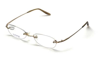 【ネット専売商品】ワンランク上の軽くて掛け心地の良い日本製リムレス老眼鏡。#2【日本製フレームとHOYA1.6非球面レンズの組み合わせ】【男女兼用】【ユニセックス】