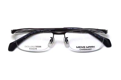 シャルマン MENSMARK メンズマーク  XM 1193-BR ブラウン【エクセレンスチタン】【メンズ】【男性用】【日本製】【ハーフリム】