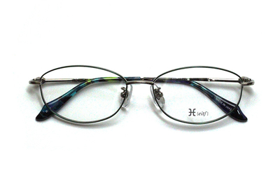 薄型レンズ付メガネセット Hamamoto H ハマモト エイチ H 1151-4 グリーン【レディース】【女性用】【日本製】【軽量フレーム】【フルリム】