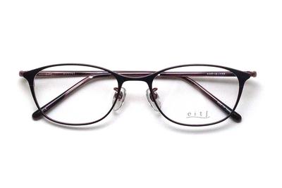 薄型レンズ付メガネセット Hamamoto H ハマモト エイチ H 1157-3 パープル/ピンク【レディース】【女性用】【日本製】【軽量フレーム】【メタル】