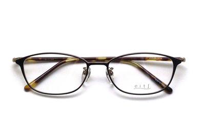 薄型レンズ付メガネセット Hamamoto H ハマモト エイチ H 1158-3 ブラック/ゴールド【レディース】【女性用】【日本製】【軽量フレーム】【メタル】