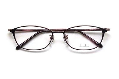 薄型レンズ付メガネセット Hamamoto H ハマモト エイチ H 1158-2 レッド/ピンク【レディース】【女性用】【日本製】【軽量フレーム】【メタル】