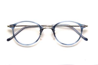 薄型レンズ付メガネセット Union Atlantic  ユニオンアトランティツク UA 3617-BL ブルーササ【ユニセックス】【男女兼用】