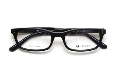 薄型レンズ付メガネセット Laulea ラウレア by アミパリ LA 4013-11 BK ブラック【ユニセックス】【男女兼用】【アセテート】