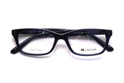 薄型レンズ付メガネセット Laulea ラウレア by アミパリ LA 4014-22 NV ネイビー【ユニセックス】【男女兼用】【アセテート】