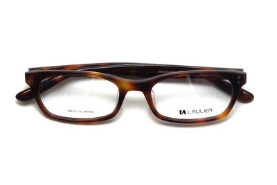 薄型レンズ付メガネセット Laulea ラウレア by アミパリ LA 4013-HV ハバナ【ユニセックス】【男女兼用】【アセテート】