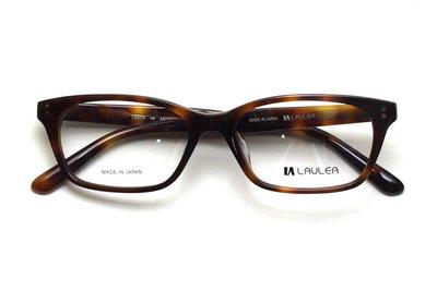 薄型レンズ付メガネセット Laulea ラウレア by アミパリ LA 4014-HV ハバナ【ユニセックス】【男女兼用】【アセテート】