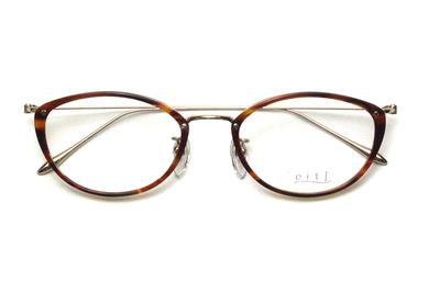 薄型レンズ付メガネセット Hamamoto H ハマモト エイチ H 1156-2 ブラウンササ【レディース】【女性用】【日本製】【軽量フレーム】【プラスチック】