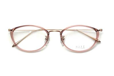 薄型レンズ付メガネセット Hamamoto H ハマモト エイチ H 1156-1 ピンク【レディース】【女性用】【日本製】【軽量フレーム】【プラスチック】