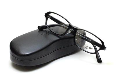 薄型レンズ付メガネセット Rayban レイバン 5385D-2000 ブラック【ユニセックス】【男女兼用】【アセテート】