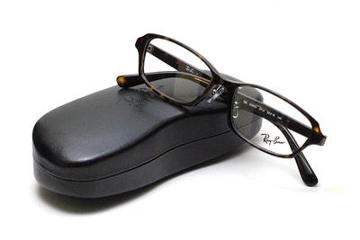 薄型レンズ付メガネセット Rayban レイバン 5385D-2012 ハバナ【ユニセックス】【男女兼用】【アセテート】