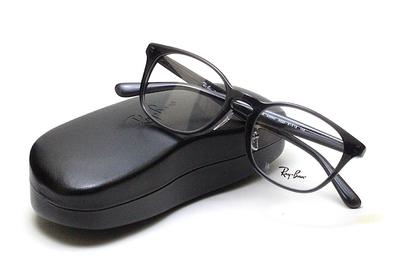 薄型レンズ付メガネセット Rayban レイバン 5386D-5920 ダークグレー【ユニセックス】【男女兼用】【アセテート】