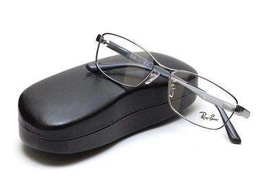 薄型レンズ付メガネセット Rayban レイバン 6452D-2553 シルバーグレー【ユニセックス】【男女兼用】【メタル】