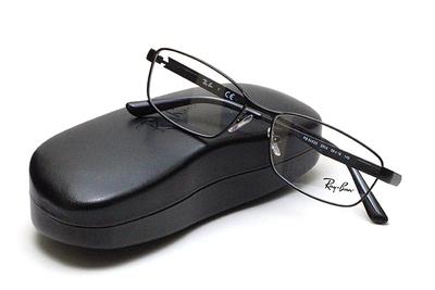 薄型レンズ付メガネセット Rayban レイバン 6452D-2503 マットブラック【ユニセックス】【男女兼用】【メタル】