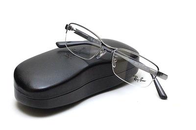 薄型レンズ付メガネセット Rayban レイバン 6453D-2553 シルバーグレー【ユニセックス】【男女兼用】【メタル】