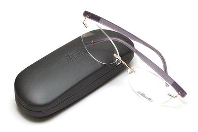 薄型レンズ付メガネセット Silhouette SIVISTA シビスタ 5553-3531 ソフトスロー