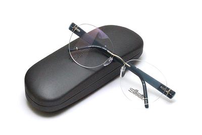薄型レンズ付メガネセット Silhouette SIVISTA シビスタ 5553-8542 デジタルティール