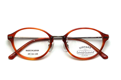Loopliant  ループライアント LP 06-49-2 オレンジブラウン【ユニセックス】【男女兼用】【日本製】
