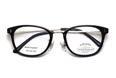 Loopliant  ループライアント LP 07-50-1 ブラック【ユニセックス】【男女兼用】【日本製】