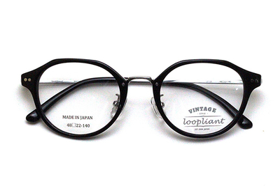 Loopliant  ループライアント LP 08-48-1 ブラック【ユニセックス】【男女兼用】【日本製】