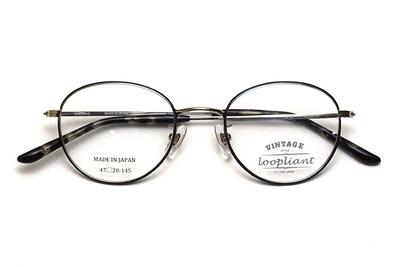 Loopliant  ループライアント LP 09-47-1 ネイビー/シルバー【ユニセックス】【男女兼用】【日本製】