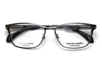 シャルマン MENSMARK メンズマーク  XM 1197-DG ダークグレー【エクセレンスチタン】【メンズ】【男性用】【日本製】【フルリム】