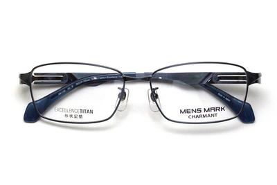 シャルマン MENSMARK メンズマーク  XM 1198-NV ネイビー【エクセレンスチタン】【メンズ】【男性用】【日本製】【フルリム】